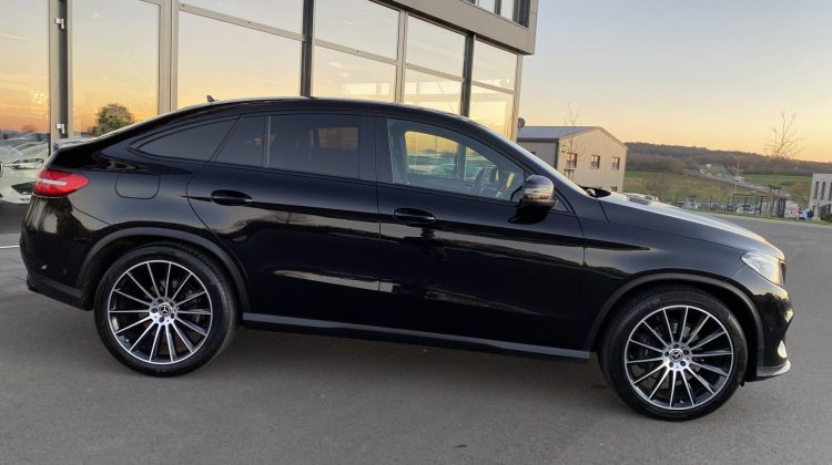 MERCEDES-BENZ GLE 350 COUPE D 4MATIC AMG NIGHT AHK LED 22